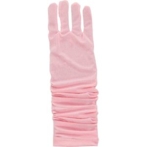 Princess Gloves Pink - One Size Fits Most