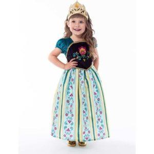 Scandinavian Princess Coronation Dress - Medium