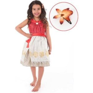 Polynesian Princess With Hair Clip - Medium
