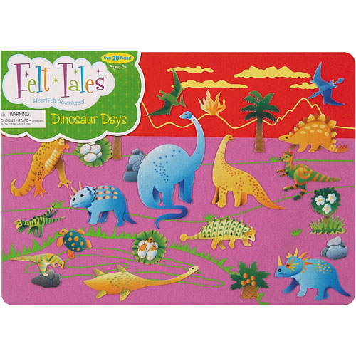 Dinosaur Days Felt Tales