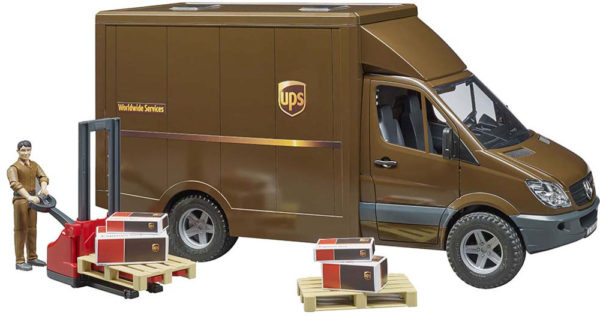 MB Sprinter UPS w driver and accessories