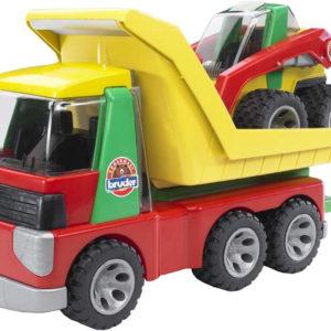 Transporter with Skid steer loader