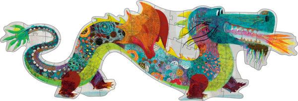 Giant Floor Puzzles Leon the Dragon - 58pcs