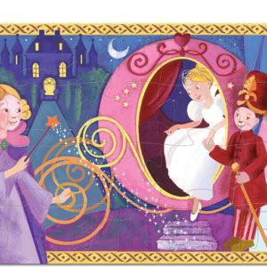 Silhouette Puzzles Cinderella - 36pcs