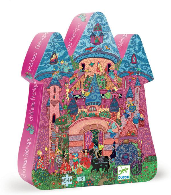 Silhouette Puzzles The Fairy Castle - 54pcs
