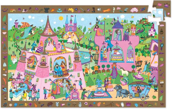 Observation Puzzles Princess - 54pcs