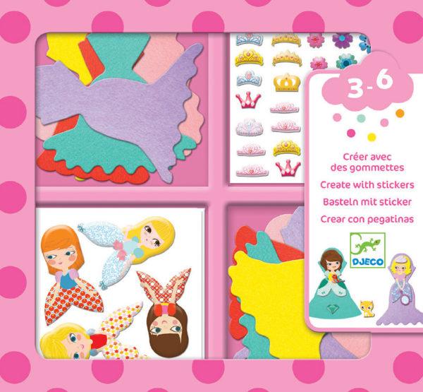 Petit Gifts - Sticker Kits I Love Princesses