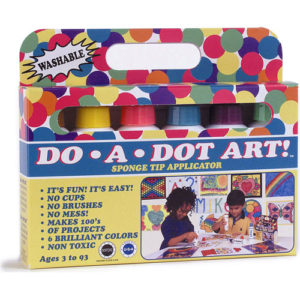 Dot-Art Markers 6-pk Brilliant [Washable]