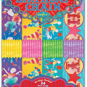 Birthday Paper Chain