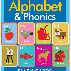 Alphabet and Phonics Flash Cards