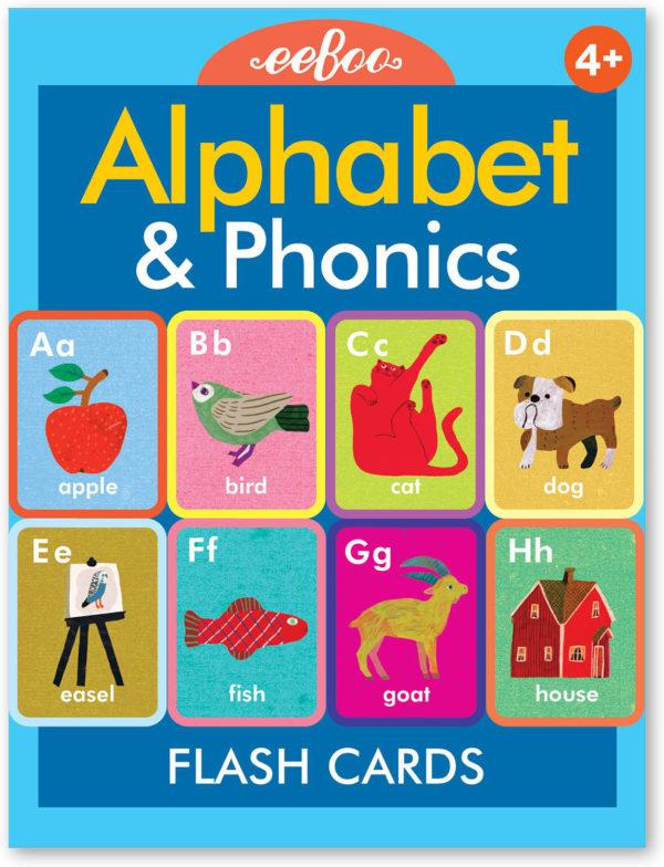 Alphabet and Phonics Flash Cards