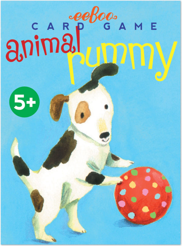 Animal Rummy Playing Cards