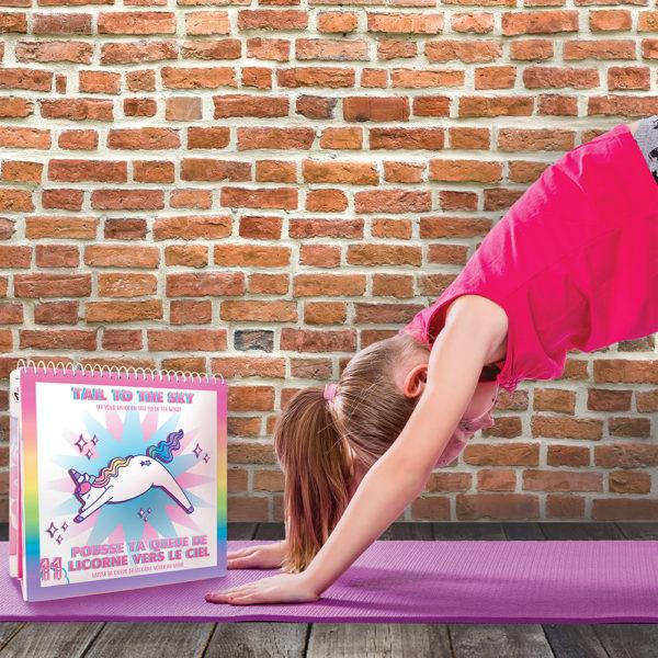 Unicorn Yoga Activity Set