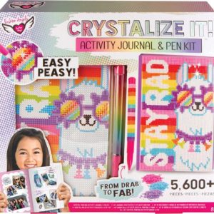 Crystalize It! Activity Journal And Pen Set