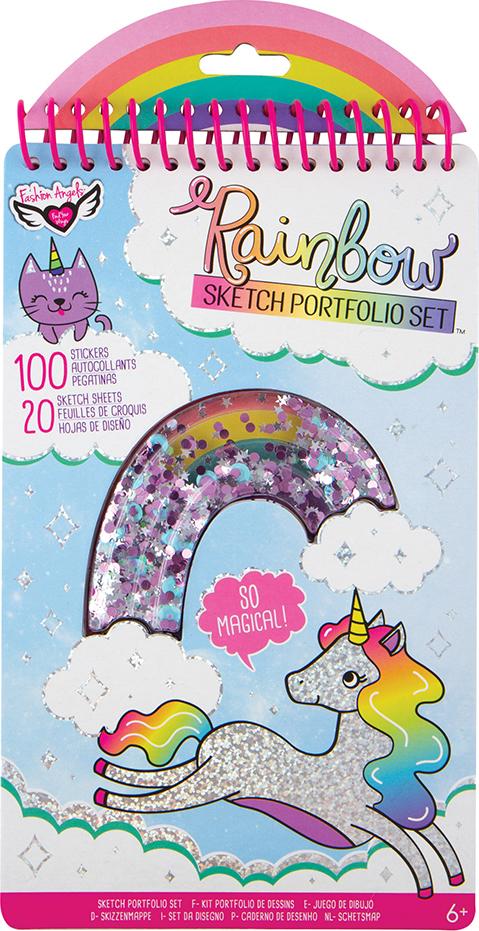 Rainbow Shaker Compact Sketch Portfolio