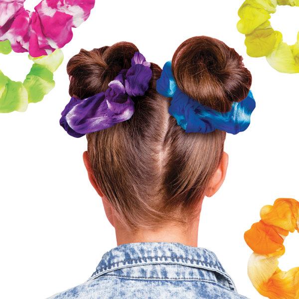 Neon Tie Dye Scrunchie Design Kit