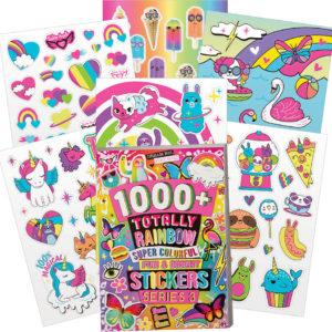 1000+ Neon Sticker Book: Series 3