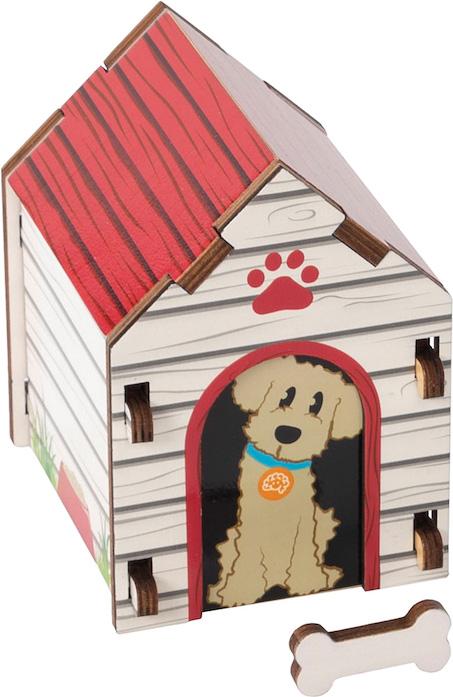 Build It Blueprint Puzzles - DOG HOUSE
