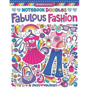 Notebook Doodles Fabulous Fashion