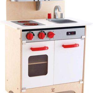 White Gourmet Kitchen