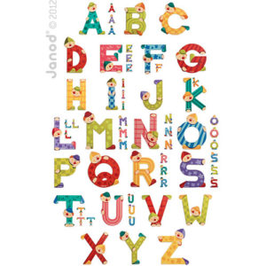 Assortment Of 144 Clown Letters