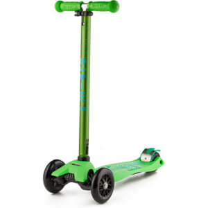 Micro Maxi Deluxe Green Scooter