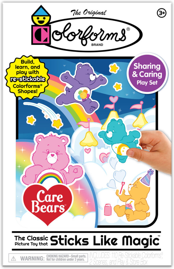 Colorforms Care Bears Play Set
