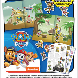 Colorforms Paw Patrol Travel Set