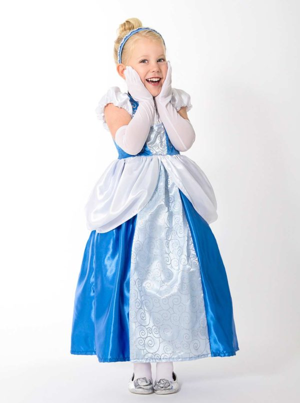 Princess Gloves White - One Size Fits Most