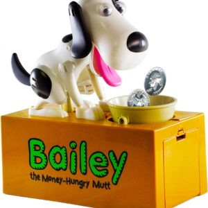 "Bailey ""The Money Hungry Mutt Bank"""