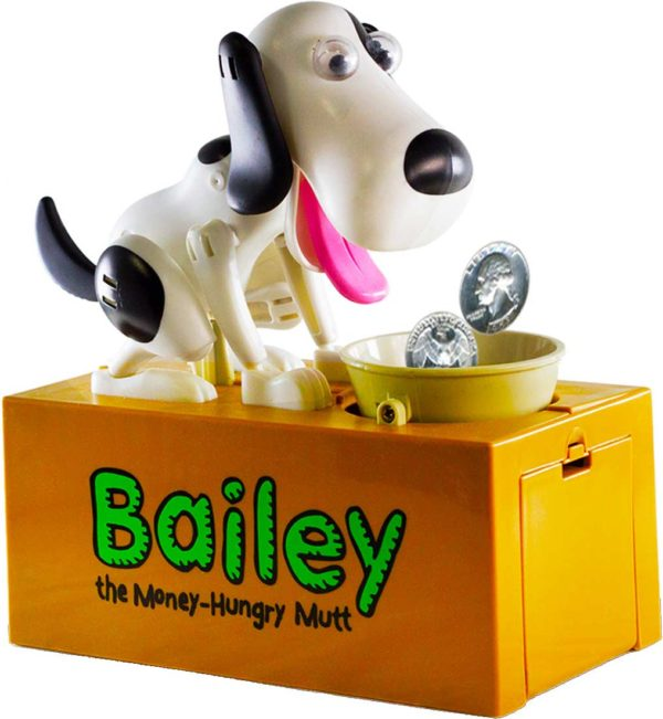 """Bailey """"The Money Hungry Mutt Bank"""""""