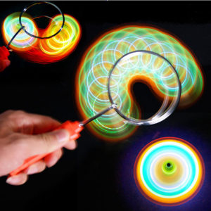 Rainbow Light Effect Gryo Wheel