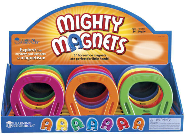 """Primary Science 5"""" Mighty Magnets, Set of 12"""