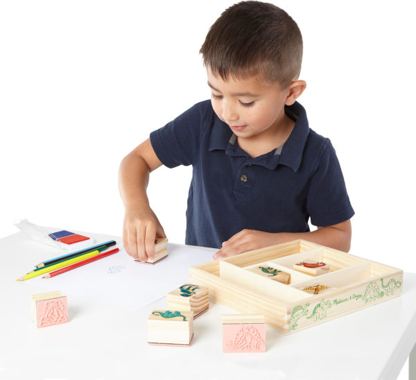 Wooden Stamp Set - Dinosaurs