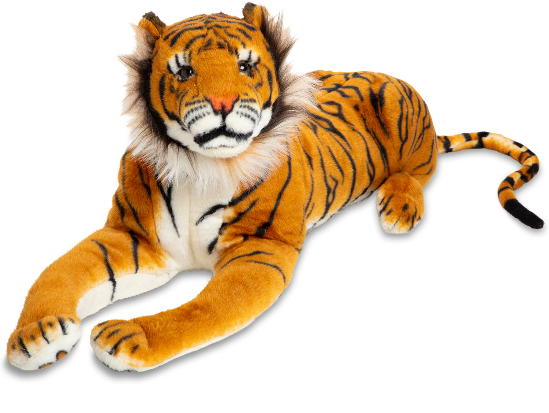 Tiger Giant Stuffed Animal Kazoo Toys