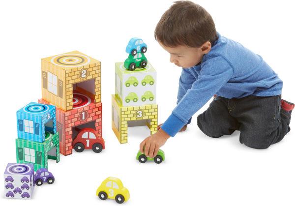 Nesting & Sorting Garages & Cars