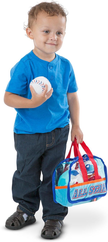 Sports Bag Fill & Spill