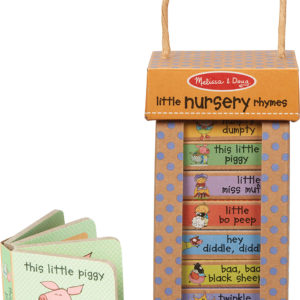 Natural Play Book Tower: Little Nursery Books