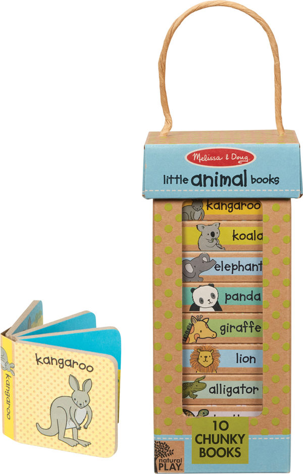 Natural Play Book Tower: Little Animal Books