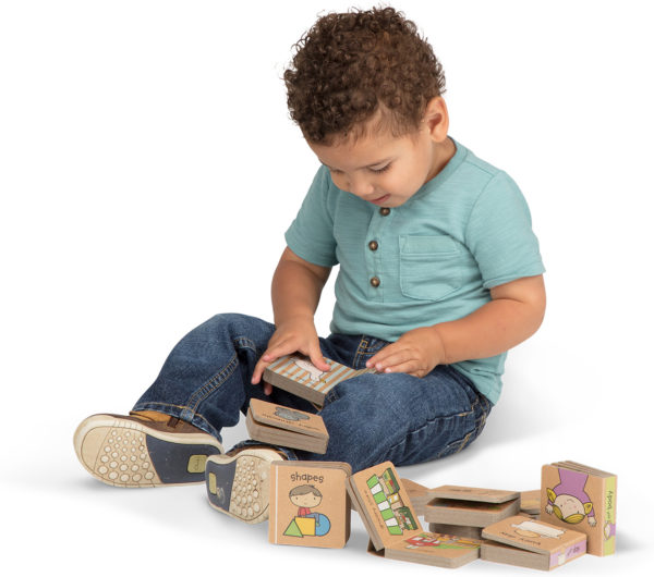 Natural Play Book Tower: Little Learning Books