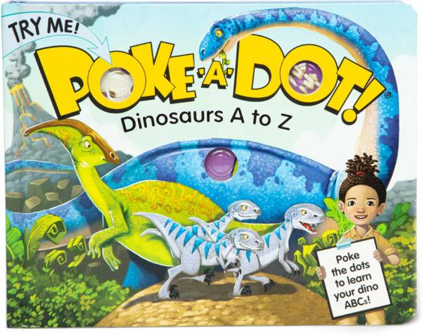 Poke-a-Dot - Dinosaurs A to Z Board Book