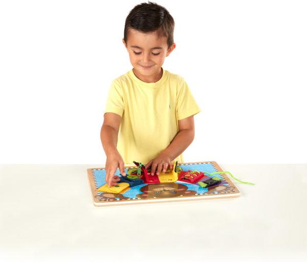 Basic Skills Puzzle Board