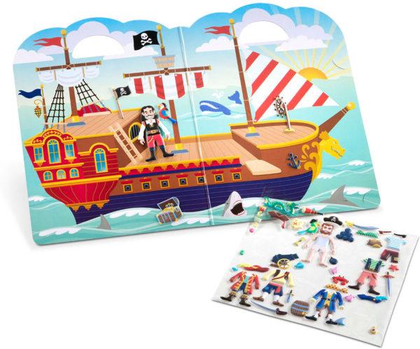 Puffy Stickers Play Set - Pirate