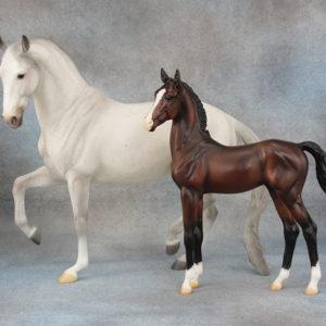 Lippizan Mare & Foal