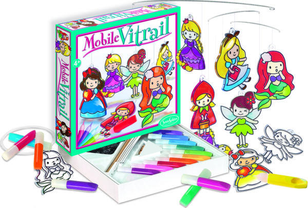 Crystal Mobile Princesses