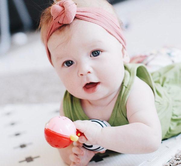 NogginStik Developmental Light-up Rattle