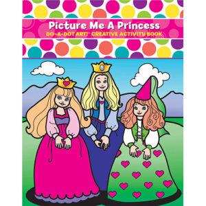Picture Me A Princess Activity Book