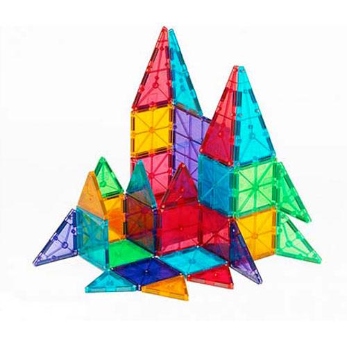Magna-Tiles™ Clear Colors 32 pc