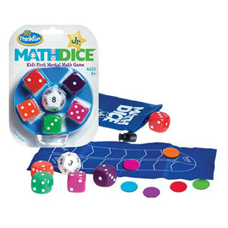 Math Dice Jr