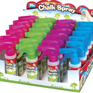Sidewalk Chalk Spray